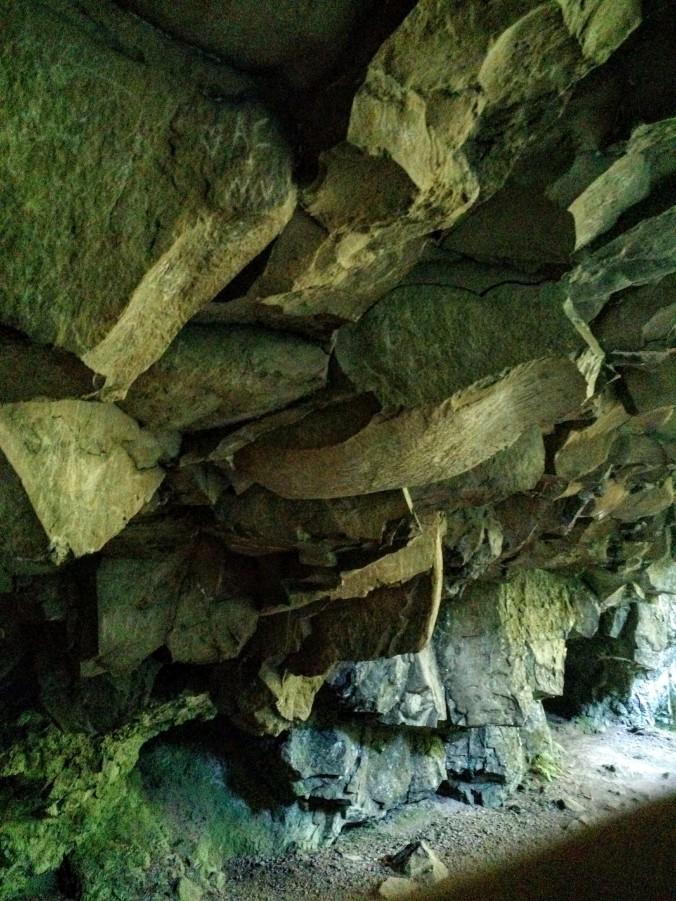 Basalt cave