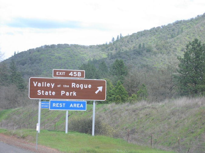 Valley of the Rogue rest area