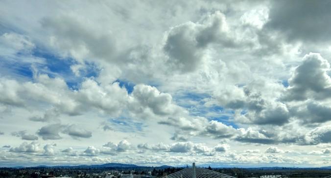 Wondrous clouds