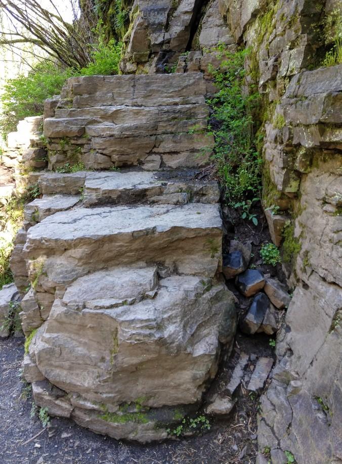 basalt layers