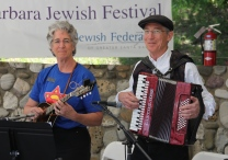 Yiddish music at the Jewish Festival
