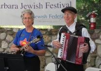 Yiddish music at the Jewish Festival