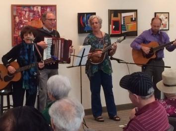 Kol B'Seder performing for the elders