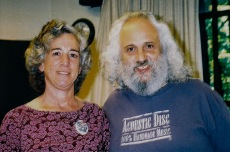 Me and David Grisman
