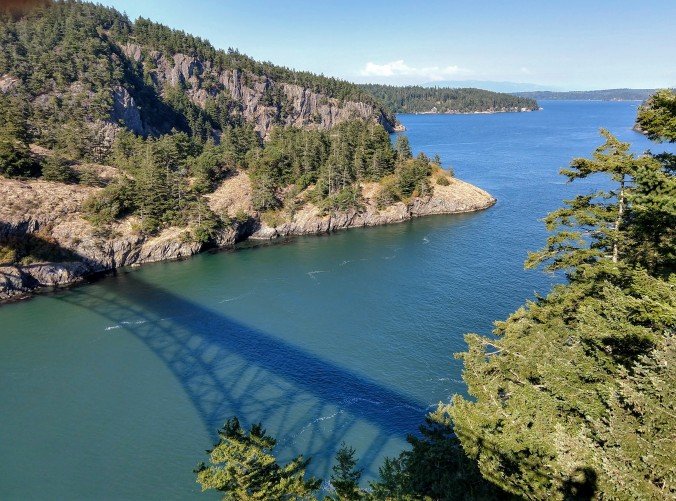 Deception Pass shadow