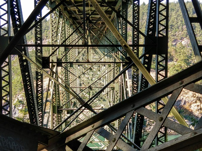 Under Deception Pass Bridge
