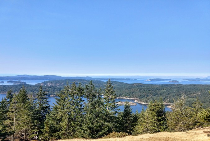 Eastern view from Turtleback Mountain