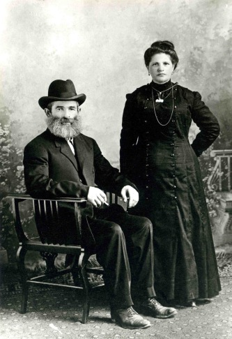 My father's grandparents 1912