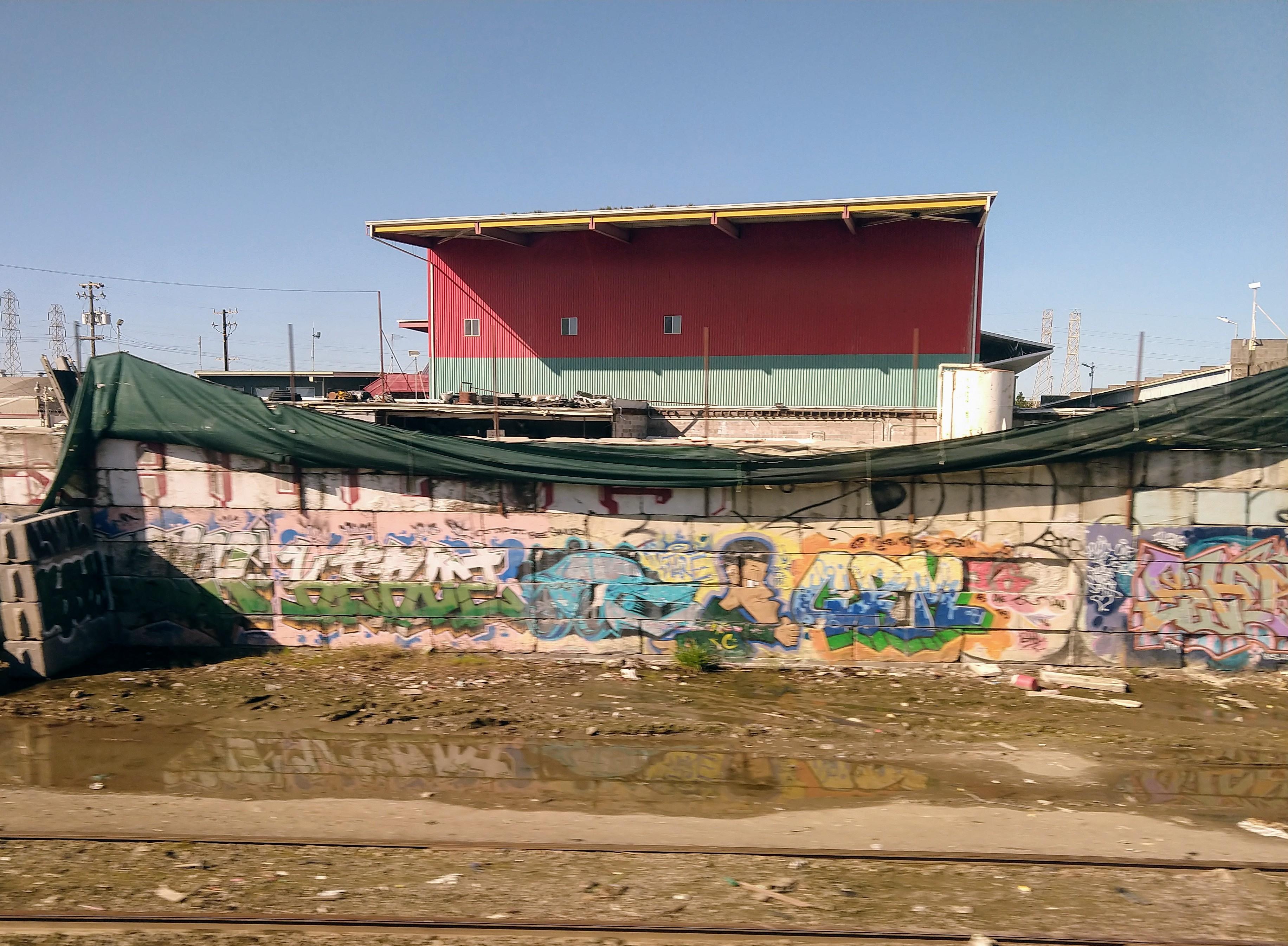 Railside art