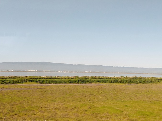 Fremont baylands across to the Peninsula