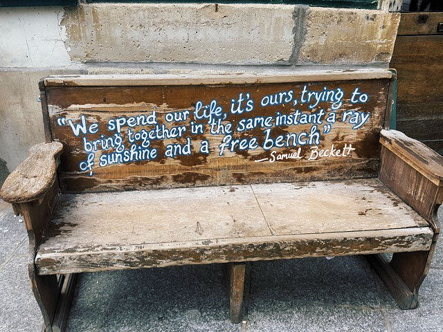 Outside Shakespeare & Company, Paris