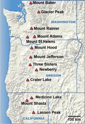 Cascade Mountains CA-OR-WA