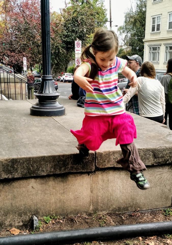 Leap for joy