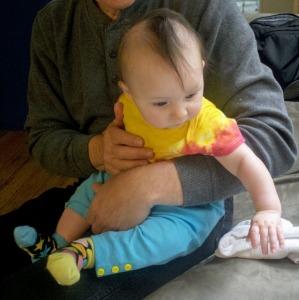 Mohawk baby